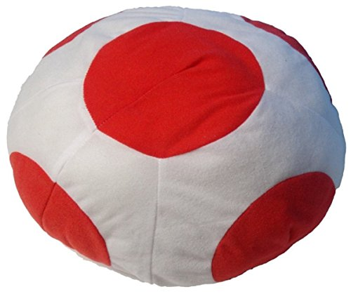 [Super Mario Series Cosplay goods (Kinopio Style Cap White)] (Daisy And Luigi Halloween Costumes)