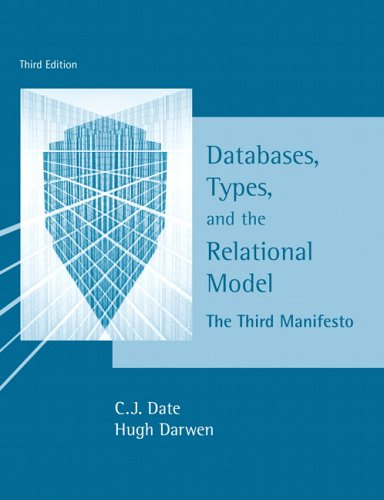 Databases, Types and the Relational Model
