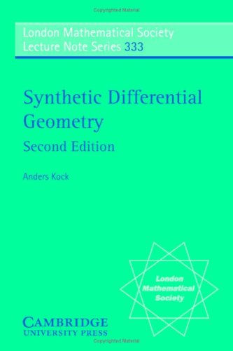 Synthetic Differential Geometry