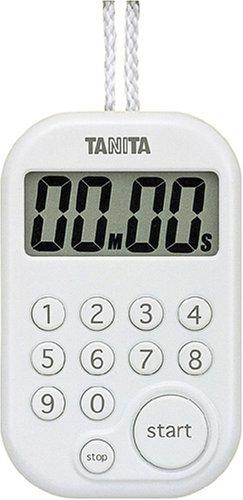 Tanita minuterie num?rique 100 minutes au total blanc TD-379-WH (japon importation)