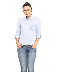 MSMB Light Blue Coloured Cotton Shirt X-Large