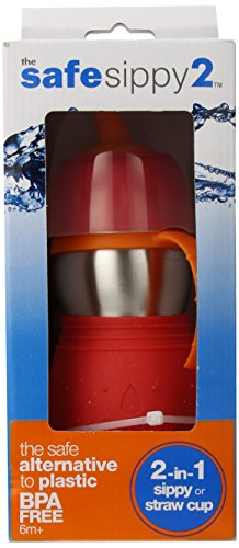 Red Sippy Cup front-136950