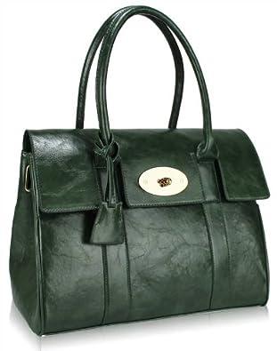 Ladies Green Shoulder Bag 60