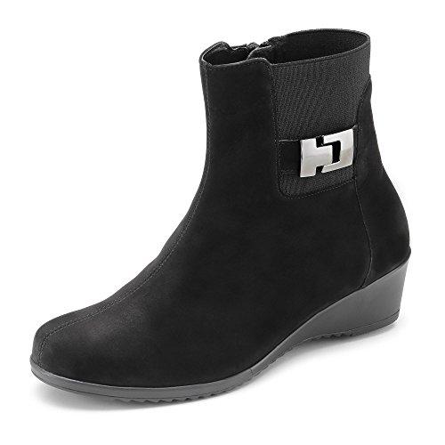 Waldläufer Schuh, Groesse 39, schwarz