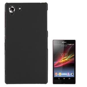 Crazy4Gadget Anti-scratch Plastic Protective Case for Sony Xperia Z1 / L39h (Black)