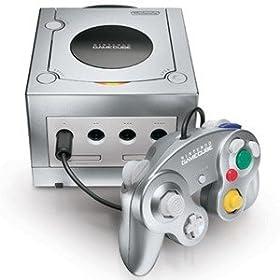 Platinum Nintendo Gamecube Console