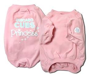 Sporty K9 Chicago Cubs Pink Dog T-shirt, X-Large
