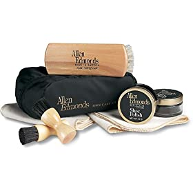 Allen-Edmonds Men's Nylon Travel Shoe Care Kit