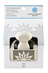 Martha Stewart Crafts Deep Edge Punch, Aster