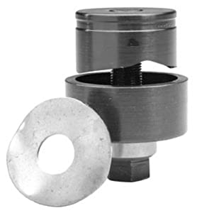 Greenlee 72BB Standard Round Knockout Punch Unit, 28.3mm