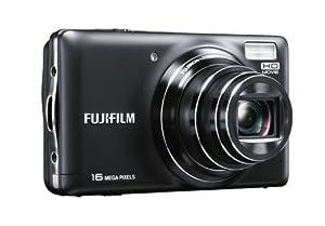 Fujifilm T400 Digital Camera - Black (16MP, 10x Optical Zoom) 3 inch LCD Screen
