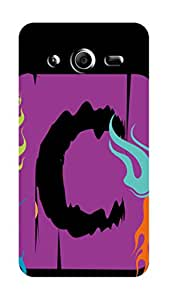 SWAG my CASE PRINTED BACK COVER FOR SAMSUNG CORE 2 Multicolor