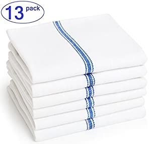 #1 Kitchen Dish Towels Brooklyn Bamboo Soft, Absorbent, More Durable Than Cotton 3Pk