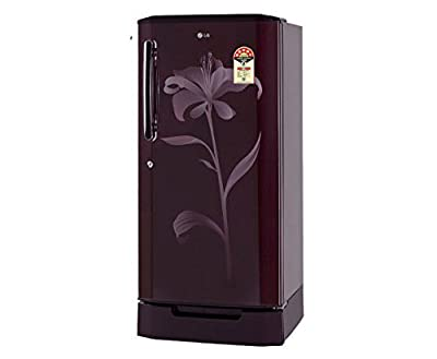LG GL-D225BSLZ Direct-cool Single-door Refrigerator (215 Ltrs, 5 Star Rating, Scarlet Lily)