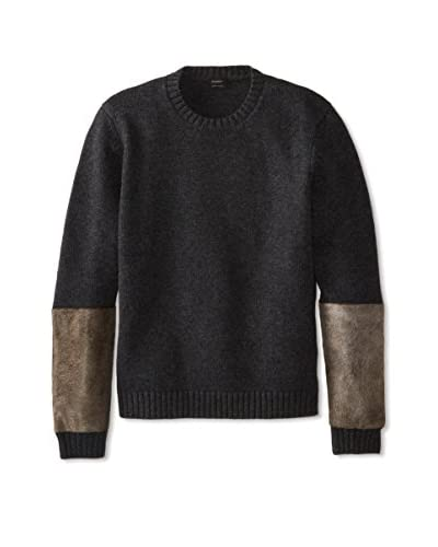 Jil Sander Men's Pony Crew Neck Long Sleeve Sweater