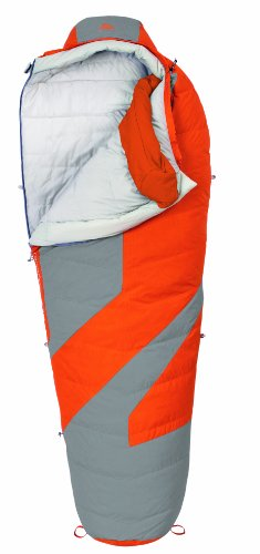 Kelty Light Year 20 Degree Down Sleeping Bag, Long , Russet