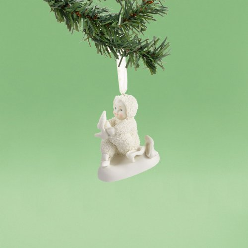 Department 56 Snowbabies by Kristi Jensen Pierro Retail Therapy Ornament, 2.36-Inch