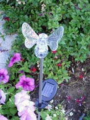 Solar Powered Bumble Bee Garden Yard Stake Color Change Light (Set of 2 pcs) at Sears.com