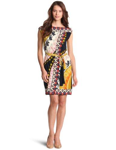 Ali Ro Women's Border Wrap Knit Dress