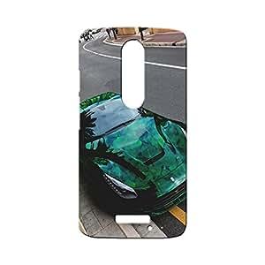 BLUEDIO Designer Printed Back case cover for Motorola Moto X3 (3rd Generation) - G1001