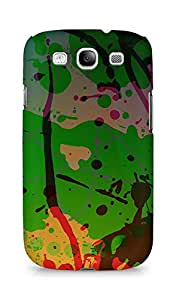 Amez designer printed 3d premium high quality back case cover for Samsung Galaxy S3 Neo (Abstract colorful blur)