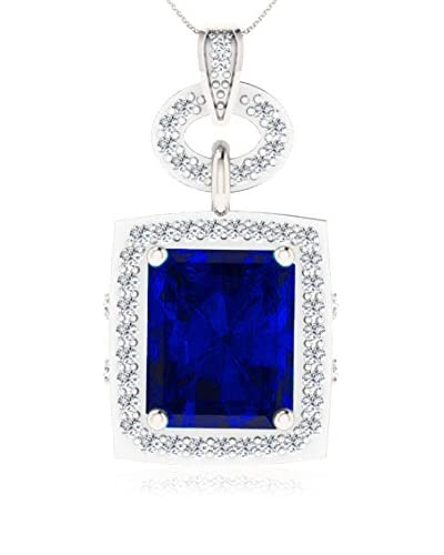 Art Of Diamond Collar BlueSapp White Gold