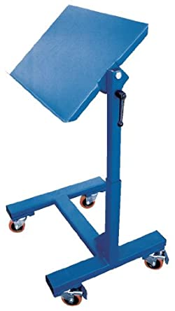Beacon mobile tilting work tables platform size wxl 24 for Table th width not working