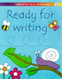 Ready for Writing (Usborne First Learning) (0746035209) by Jenny Tyler