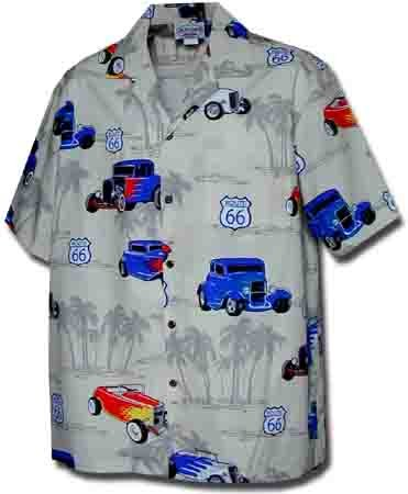 Hot Rods Route 66 Hawaiian Shirt, Khaki - Buy Hot Rods Route 66 Hawaiian Shirt, Khaki - Purchase Hot Rods Route 66 Hawaiian Shirt, Khaki (Pacific Legend, Pacific Legend Mens Shirts, Apparel, Departments, Men, Shirts, Mens Shirts, Casual, Casual Shirts, Mens Casual Shirts)