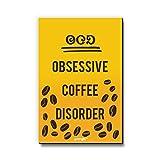 Seven Rays OCD Obsessive Coffee Disorder Fridge Magnet