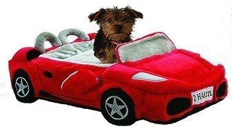 Ferrari-Furarri-Red-Car-Dog-Bed