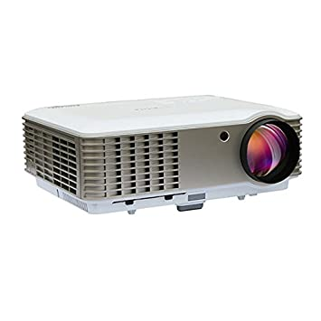 8000 1080P lumens LED Heimkino Beamer Projektor 1080P HD 3D HDMI VGA USB AV i3