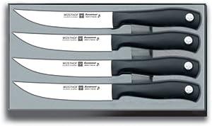 Wusthof Silverpoint II 4-Piece Steak Knife Set