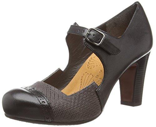 Chie Miharaticara - Scarpe col tacco donna , Grigio (Grau (taichi negro loos asfalto)), 39