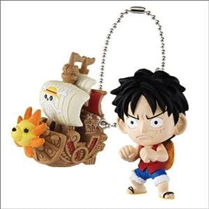 Bandai One Piece The New World Waku Waku W ship Key chain Mascot Figure Vol 3