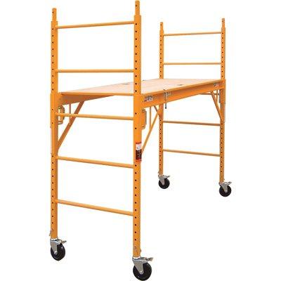 Metaltech Multipurpose 6ft. Baker-Style Scaffold - 1,000-Lb. Capacity, Steel, Model# I-CISC photo