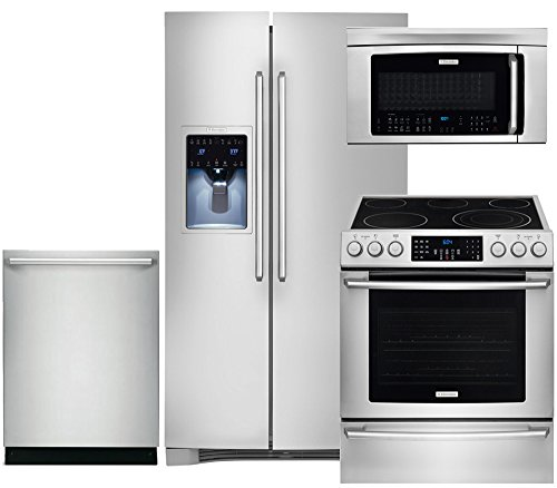 Electrolux IQ-Touch 4-Piece Stainless Steel Kitchen Package with EI26SS30JS 36