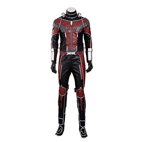 MagicCosplay Men's Captain America 3 Ant Man Halloween Fancy Dress Costume(S) (Ant Man Costumes)
