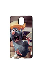 Jumping Rat With Chees Stylish Mobile Case/Cover For Samsung Galaxy NOTE 3