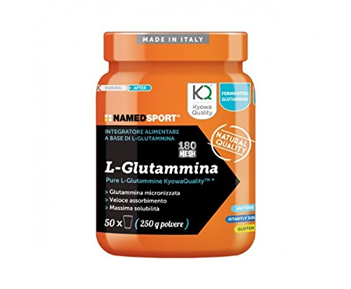 L-Glutammina - Named - Integratore alimentare a base di Pure L-Glutammine KyowaQualityTM