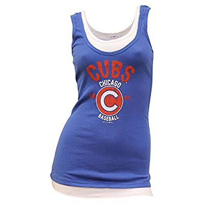 Women's MLB Team Logo Layered Look Tank Top