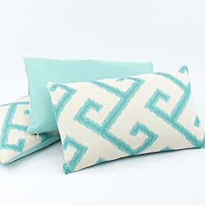 Modern Outdoor Lumbar Pillows : Amazon.com - Pacific Coast Sunbrella Outdoor Pillow Collection -12x20