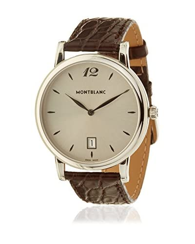 Montblanc Reloj automático Man 108770 Marrón 39 mm