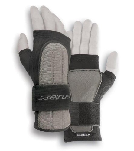 Seirus Innovation Jam Master Exo Under Glove Wrist Protection, Black, Large/X-Large