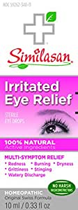 Similasan Irritated Eye Relief Drops, .33 Ounce Bottle