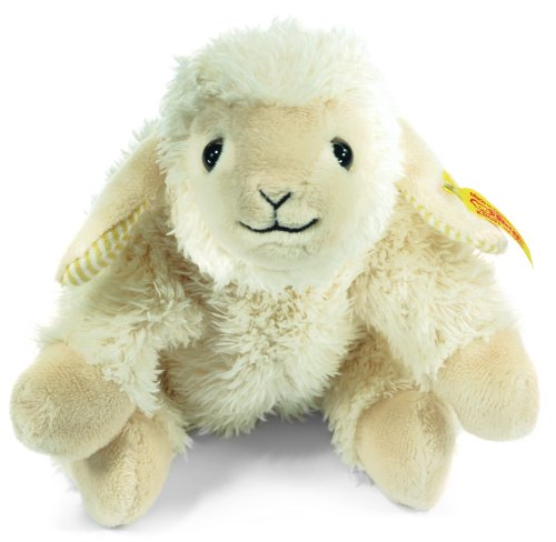Steiff Little Floppy Linda Lamb, Cream