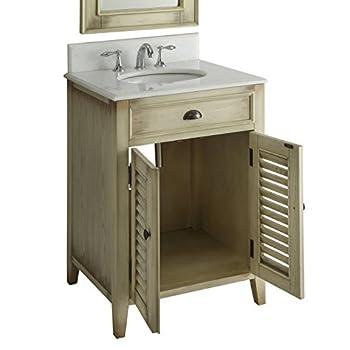 "26"" Cottage look Abbeville Bathroom Sink vanity Model CF28323"