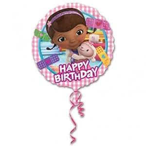 Doc McStuffins Party - Doc McStuffins 18 Inch Happy Birthday Foil Balloon