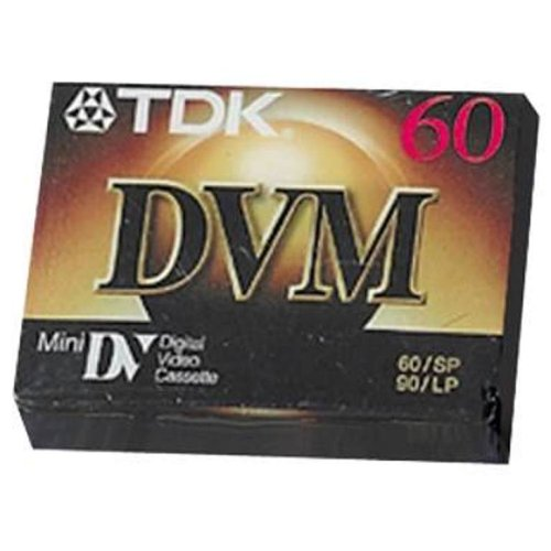 TDK Electronics DVM60MES10 DVM 60 Minute Digital Video Cassette for Camcorder 10 PackB0000VYJTM