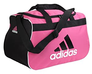 adidas Women's Diablo Duffle Small, One Size, Intense Pink/Black